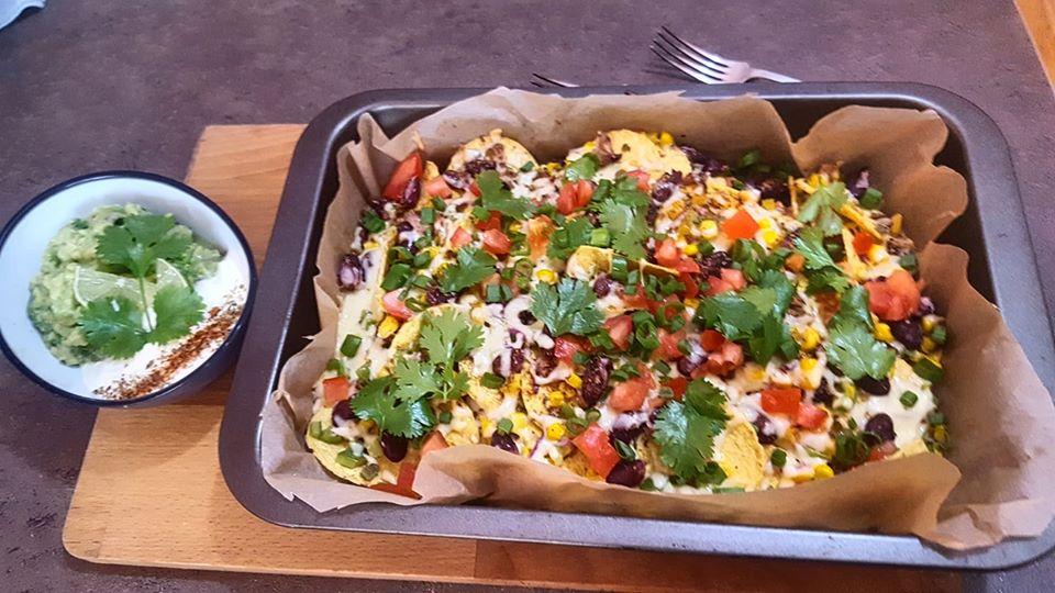 nachos receptas